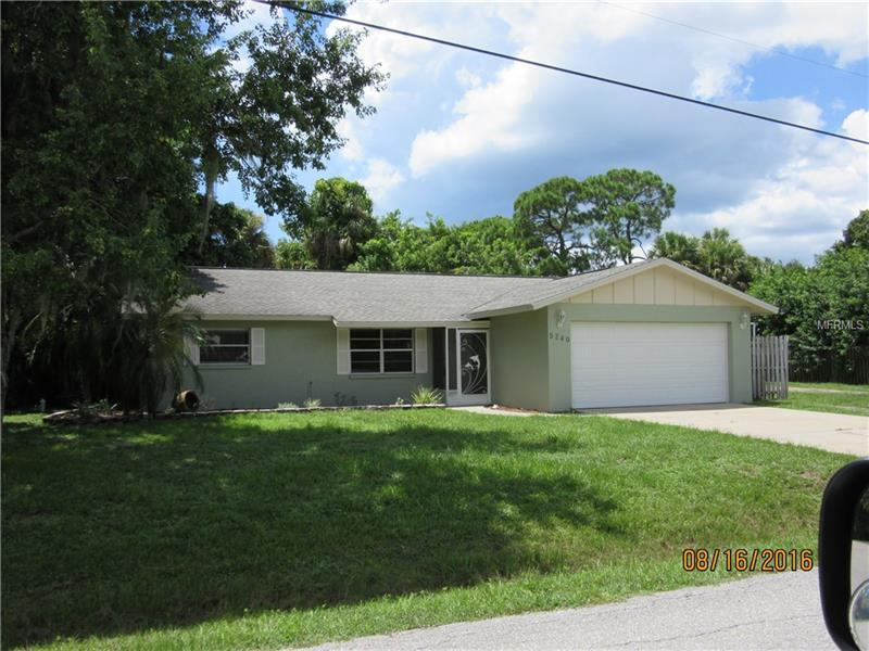Photo of home for sale at 5240 HERON ROAD, Venice FL