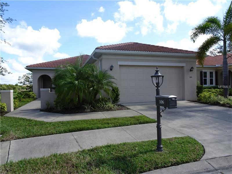 Photo of home for sale at 106 LERIDA COURT, North Venice FL