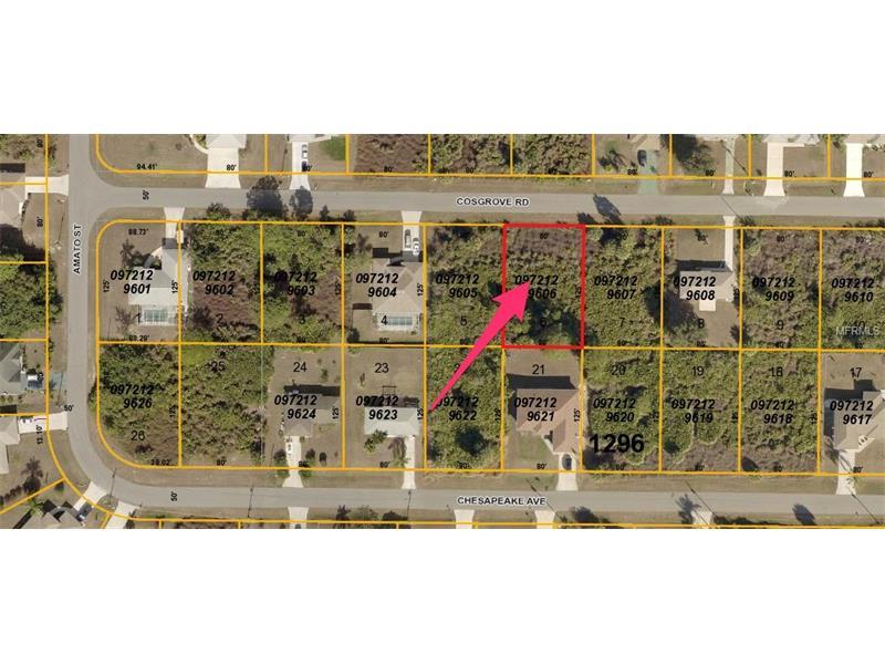 Photo of home for sale at COSGROVE RD, North Port FL